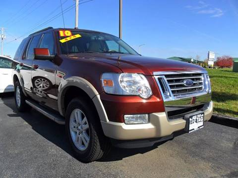 2010 Ford Explorer For Sale >> Used 2010 Ford Explorer For Sale In Sycamore Il Carsforsale Com