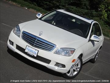 2009 Mercedes-Benz C-Class for sale in Hillsboro, OR