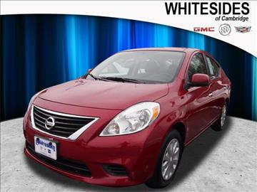 2013 Nissan Versa for sale in Cambridge, OH