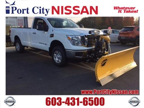 2017 Nissan Titan XD for sale in Portsmouth, NH