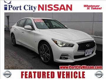 2015 Infiniti Q50 for sale in Portsmouth, NH