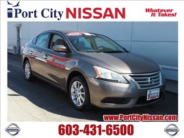 2015 Nissan Sentra for sale in Portsmouth, NH