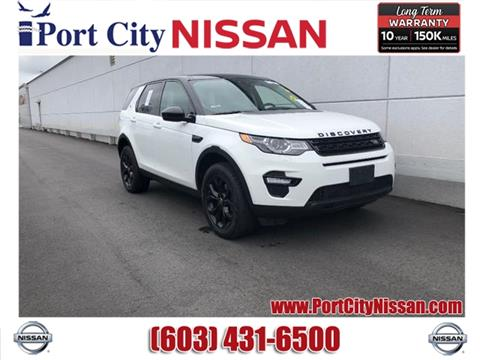 2016 Land Rover Discovery Sport for sale in Portsmouth, NH