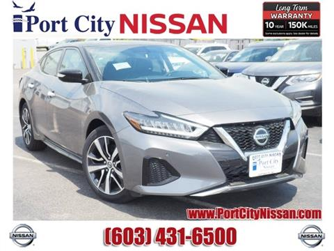 2019 Nissan Maxima for sale in Portsmouth, NH