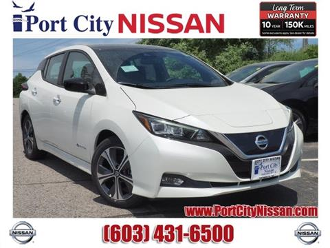 2019 Nissan LEAF for sale in Portsmouth, NH