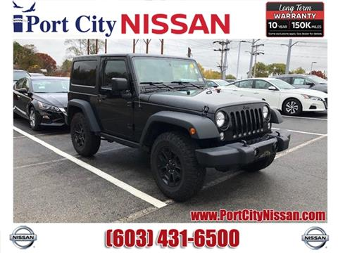 2015 Jeep Wrangler for sale in Portsmouth, NH