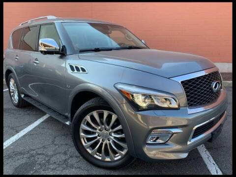 2016 Infiniti QX80 for sale at Port City Nissan in Portsmouth NH