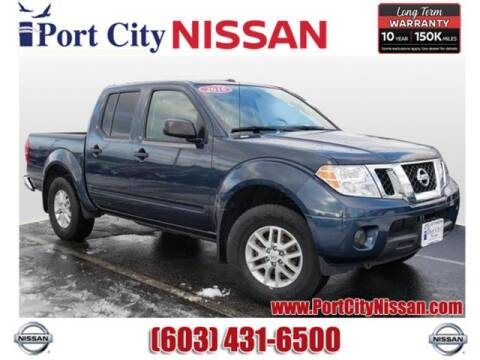 2016 Nissan Frontier SV for sale at Port City Nissan in Portsmouth NH