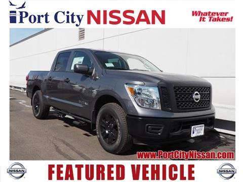 2017 Nissan Titan for sale in Portsmouth, NH