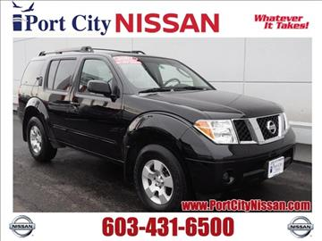 2007 Nissan Pathfinder for sale in Portsmouth, NH