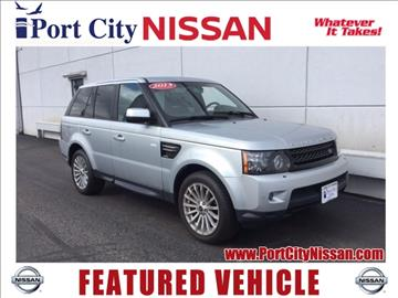 2013 Land Rover Range Rover Sport for sale in Portsmouth, NH