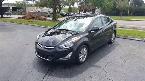 2015 Hyundai Elantra for sale in Hollywood, FL