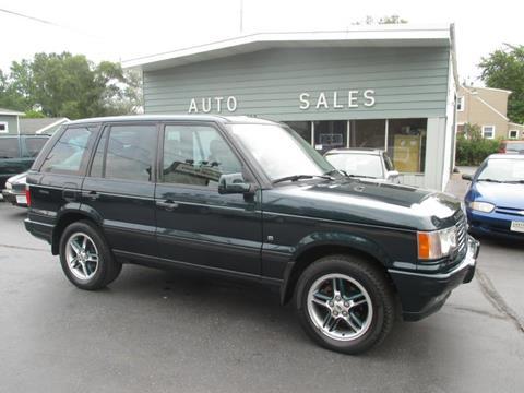 2001 Land Rover Range Rover for sale in Kenosha WI