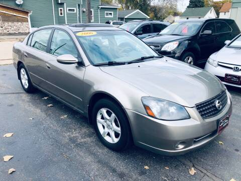 2006 Nissan Altima for sale at SHEFFIELD MOTORS INC in Kenosha WI