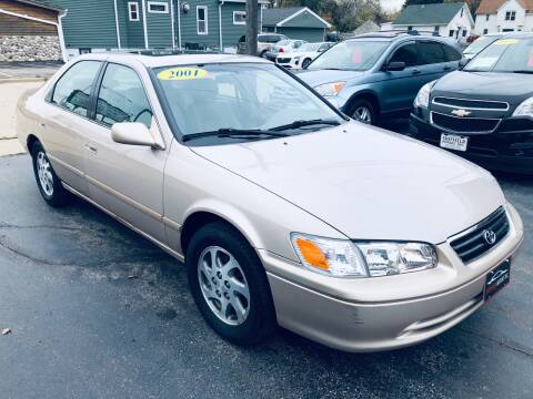 2001 Toyota Camry for sale at SHEFFIELD MOTORS INC in Kenosha WI