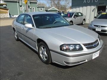 2002 Chevrolet Impala for sale in Kenosha, WI