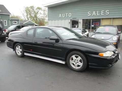 2002 Chevrolet Monte Carlo for sale in Kenosha WI