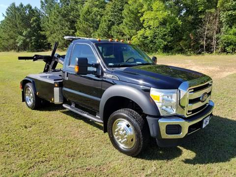 2016 Ford F-450 for sale at Deep South Wrecker Sales in Loganville GA
