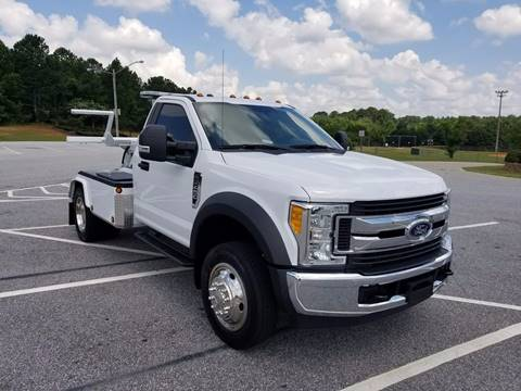 2017 Ford F-450 for sale at Deep South Wrecker Sales in Loganville GA