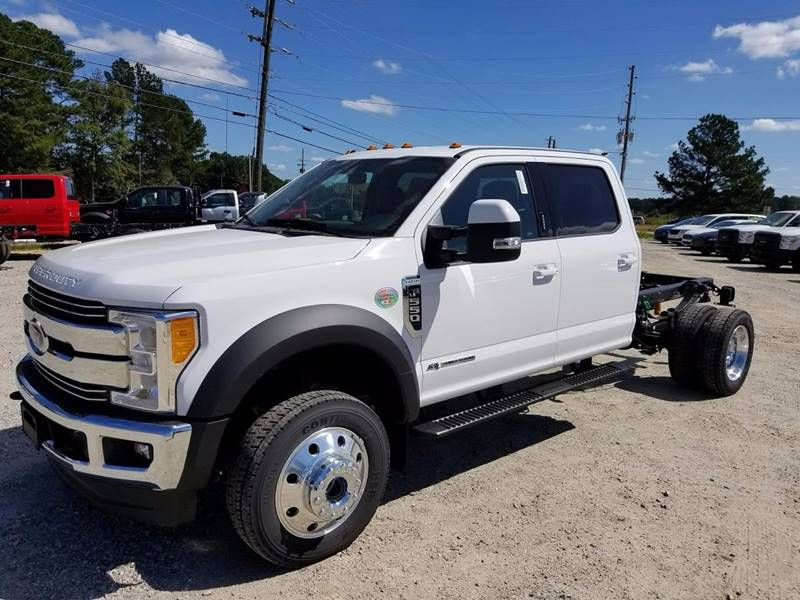 2017 Ford F-550 Crew Cab for sale at Deep South Wrecker Sales in Loganville GA