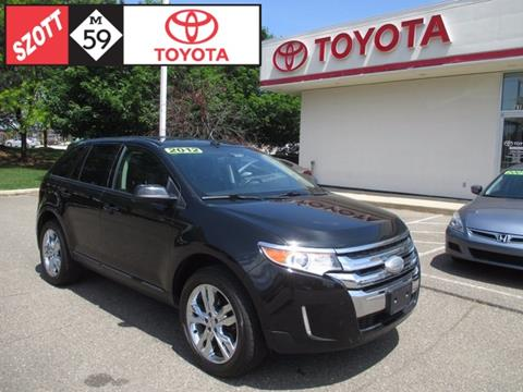 2012 Ford Edge for sale in Waterford MI