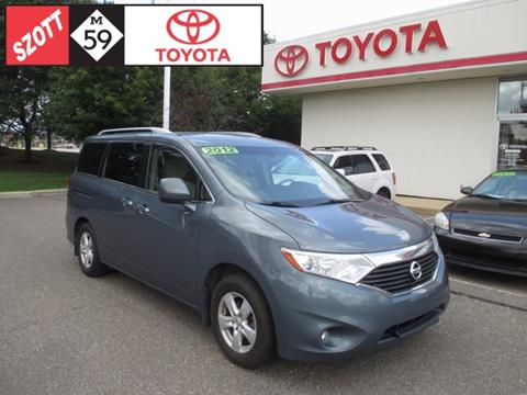 2012 Nissan Quest for sale in Waterford, MI