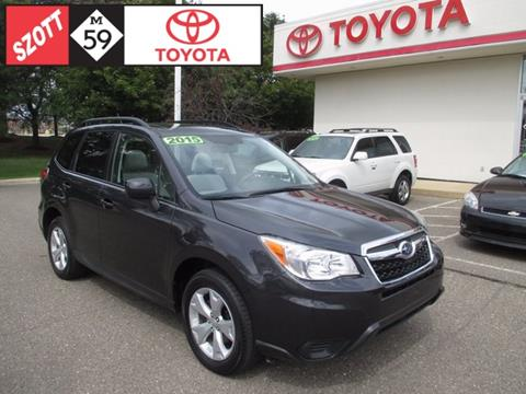 2015 Subaru Forester for sale in Waterford, MI