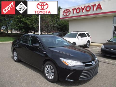 2016 Toyota Camry Hybrid for sale in Waterford, MI