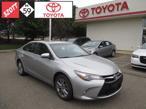 2017 Toyota Camry for sale in Waterford, MI