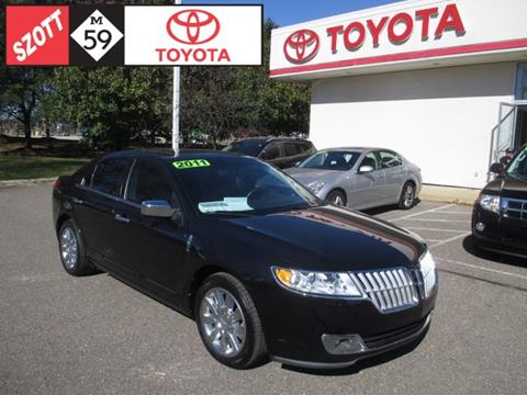 2011 Lincoln MKZ for sale in Waterford, MI
