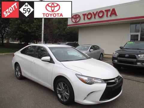 2015 Toyota Camry for sale in Waterford, MI
