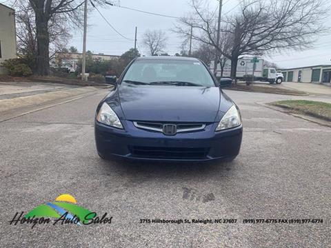 2004 Honda Accord for sale in Raleigh, NC