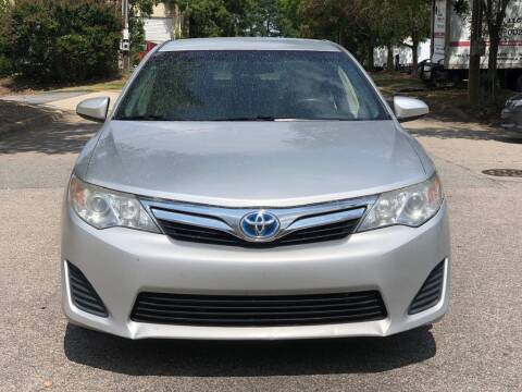 2012 Toyota Camry Hybrid for sale at Horizon Auto Sales in Raleigh NC