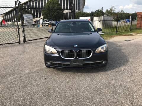 2012 BMW 7 Series for sale at Horizon Auto Sales in Raleigh NC