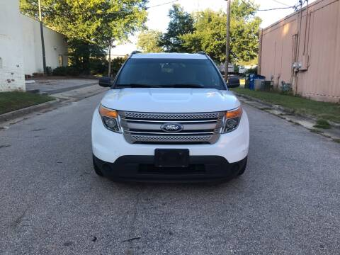 2013 Ford Explorer for sale at Horizon Auto Sales in Raleigh NC