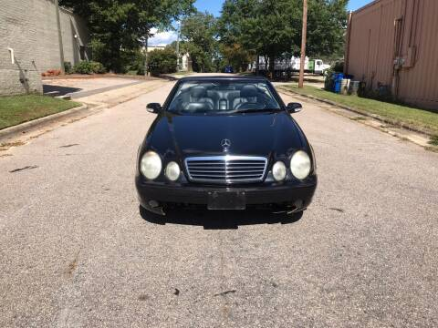 2003 Mercedes-Benz CLK for sale at Horizon Auto Sales in Raleigh NC