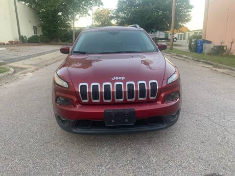 2014 Jeep Cherokee for sale at Horizon Auto Sales in Raleigh NC