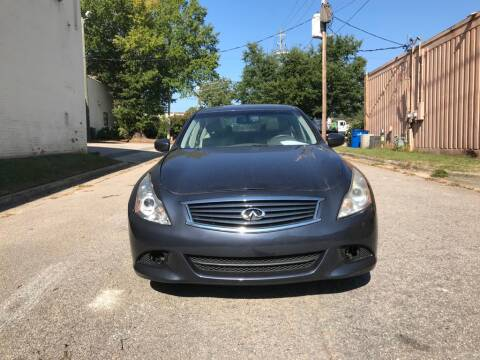 2010 Infiniti G37 Sedan for sale at Horizon Auto Sales in Raleigh NC