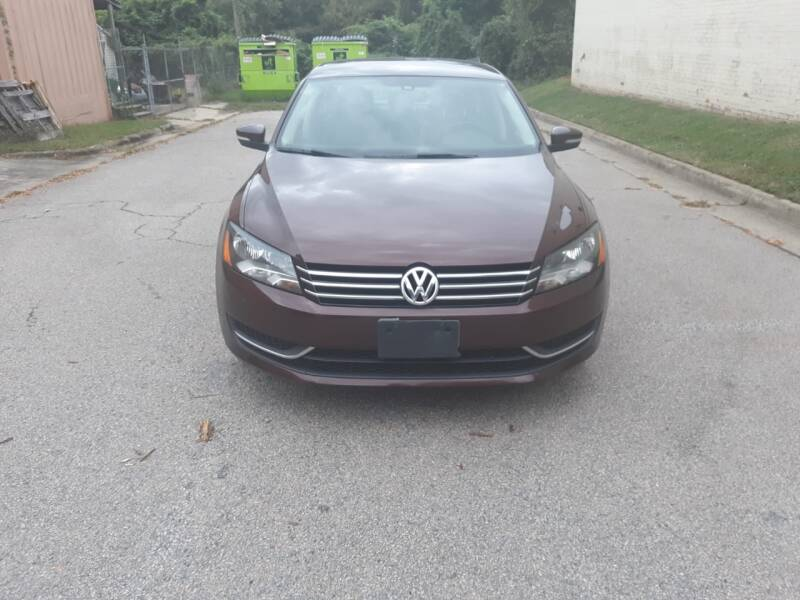 2014 Volkswagen Passat for sale at Horizon Auto Sales in Raleigh NC