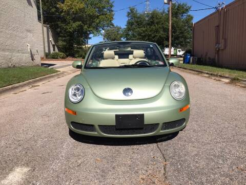 2008 Volkswagen New Beetle Convertible for sale at Horizon Auto Sales in Raleigh NC