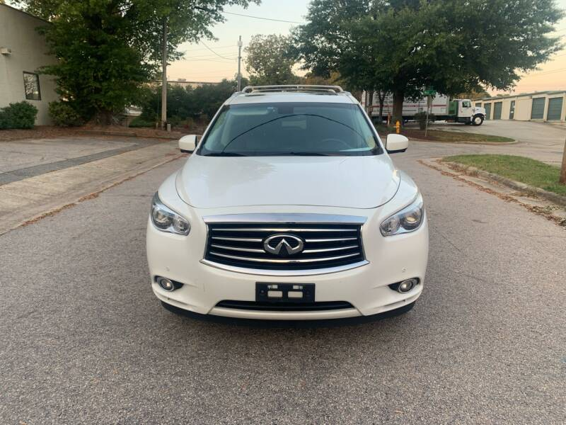 2013 Infiniti JX35 for sale at Horizon Auto Sales in Raleigh NC