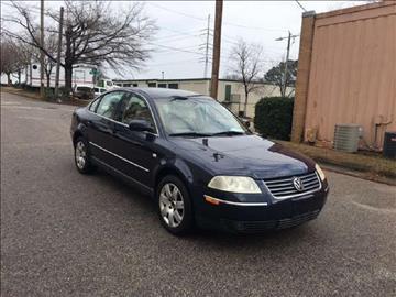 2001 Volkswagen Passat for sale in Raleigh, NC