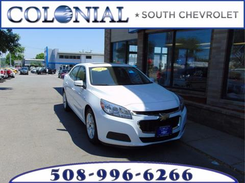 2015 Chevrolet Malibu for sale in Dartmouth, MA