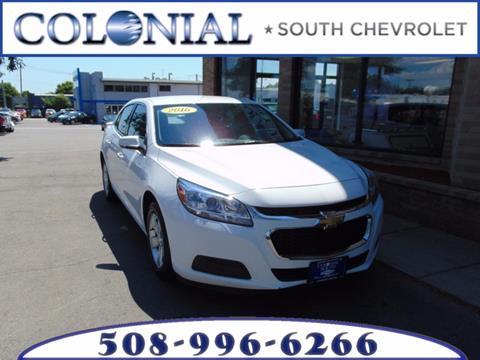 2016 Chevrolet Malibu Limited for sale in Dartmouth, MA