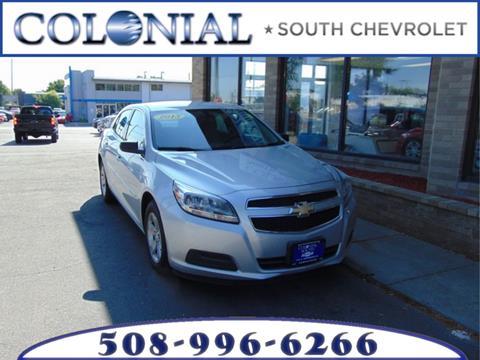2013 Chevrolet Malibu for sale in Dartmouth MA