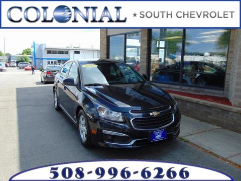 2015 Chevrolet Cruze for sale in Dartmouth MA