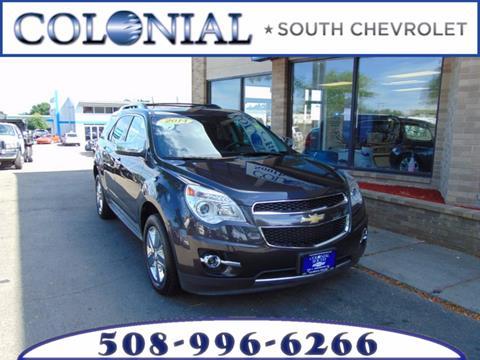 2014 Chevrolet Equinox for sale in Dartmouth MA