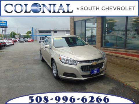 2016 Chevrolet Malibu Limited for sale in Dartmouth MA
