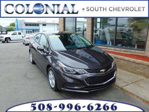 2017 Chevrolet Cruze for sale in Dartmouth MA