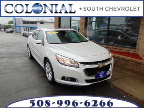 2015 Chevrolet Malibu for sale in Dartmouth, MA